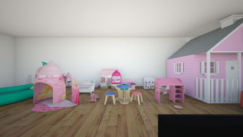 only girls room - Glamour - Kids room  - by cuttie1908