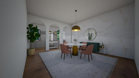 Brass Dining Room - Dining room  - by BaylorBear