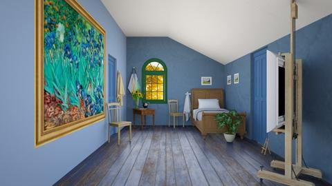 Art Masters Bedroom - Bedroom  - by Feeny