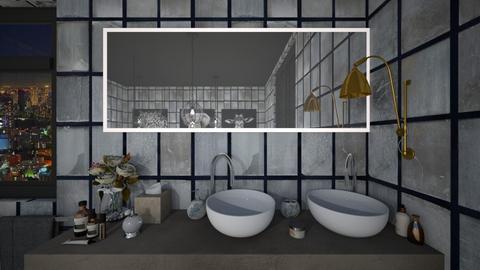 Rose Bathroom - Feminine - Bathroom  - by Drama Llama