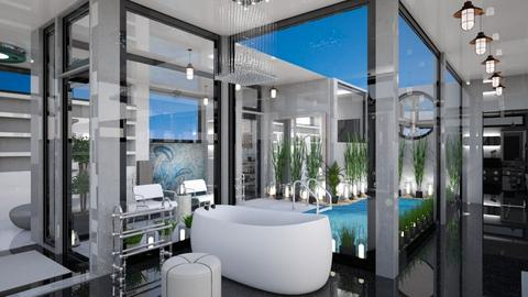 Relaxing Bath OTW - Modern - Bathroom  - by Amyz625