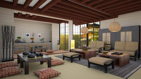 Japanese Embassy - by Feeny