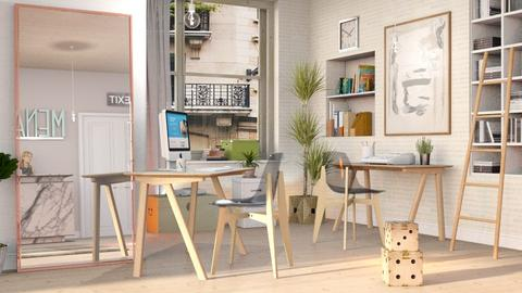 Blurry Office - Eclectic - Office  - by Sally Simpson