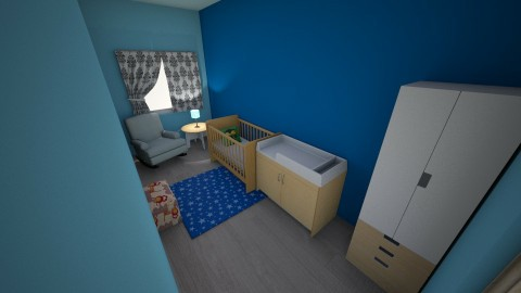 pokoj chlopiecy 1 - Modern - Kids room  - by Tacjana