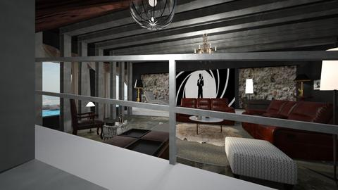 Dr No inspired  Interior - by ritsa