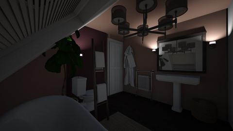 Womb Room 2 - Bathroom  - by hannahfboulton