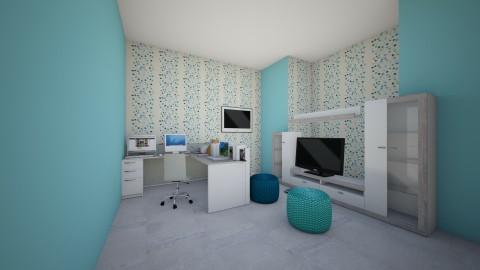 Entertainment Room - Modern - by xXBubblelGumlGirlXx