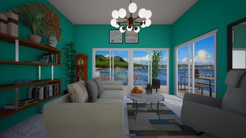 Beach Life - Living room - by VeroDale