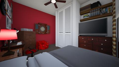 Teenage Bedroom 4 - Bedroom  - by SammyJPili