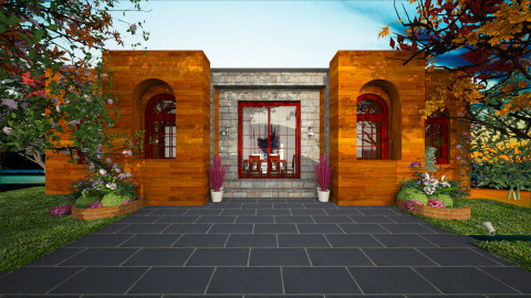 front entry2 - by Ty Levine