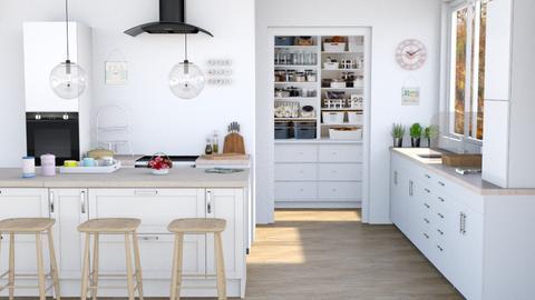 Lux Air Kitchen - Kitchen  - by lyrikkah