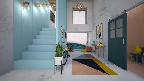 Playful Hallway - by shadowfeet