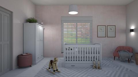 Nursery pink - Kids room  - by Ontwerpstudio34