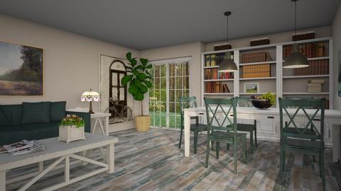 Oak - Eclectic - Living room  - by Theadora