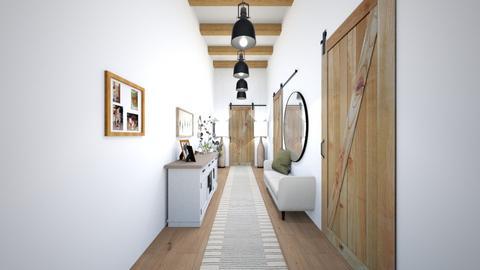 Welcoming Hallway - by jrgerye707