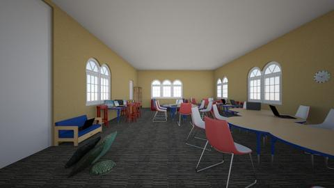 rm 15 classroom model - Modern - Office - by moderngirl12