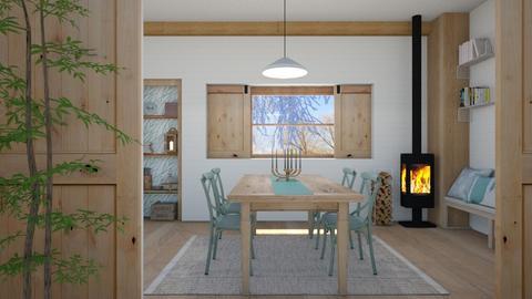 skandinavian diningroom - Dining room  - by rasty