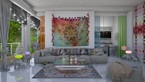 bohemian  - Modern - Living room  - by Ida Dzanovic