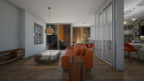 Black - Living room  - by nanabpf