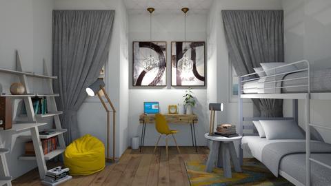 Modern Bedroom - by KittyKat28