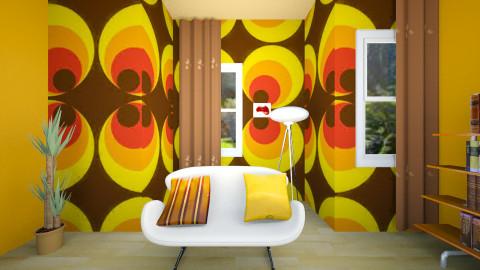 rwlivingroom - Retro - Living room  - by blingirl
