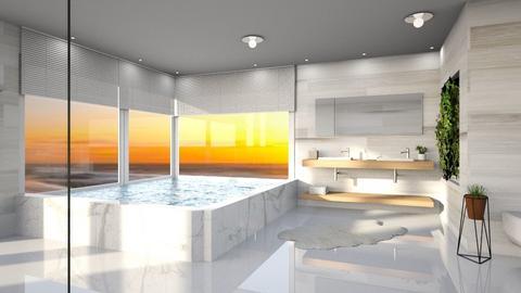 modern bathroom - Modern - Bathroom  - by its lia