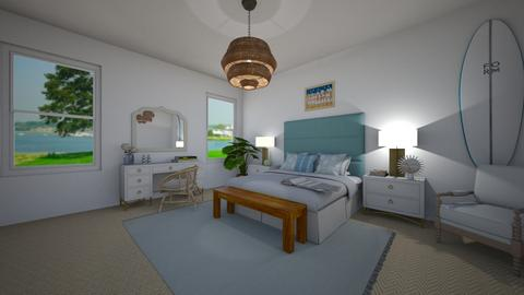 Beachy bedroom - Bedroom - by Alice Connor