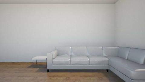 White - Modern - Living room - by lilangel1516