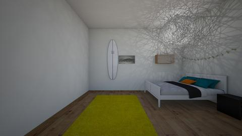 Surfer girl - Modern - Bedroom  - by Louisa caulton