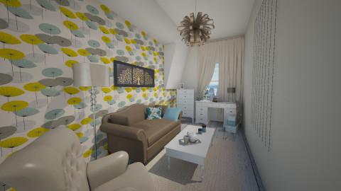 mybedroom - Bedroom - by csurka
