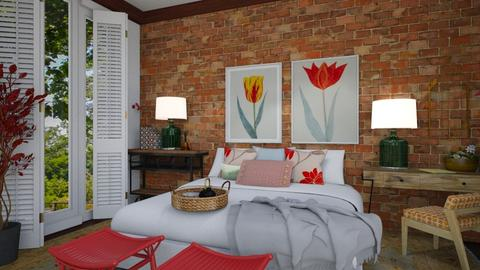 Cozy Windows - Bedroom  - by timeandplace