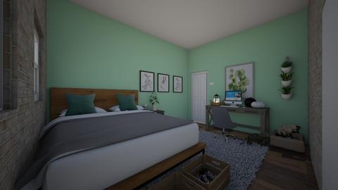 My Room design - Vintage - Bedroom  - by AliciaCraia