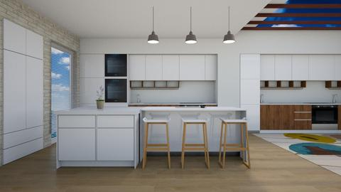 K1 - Modern - Kitchen  - by GraceED