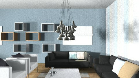 house in bergen - Living room - by alaralicious