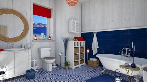 Nautical Bath - Classic - Bathroom  - by martinabb