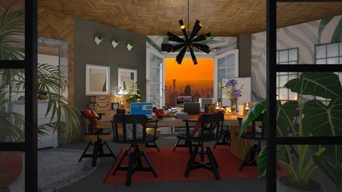 urban jungle office - Office - by lais baptista