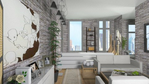 Yoo Inspired  - Modern - Living room  - by cheyjordan