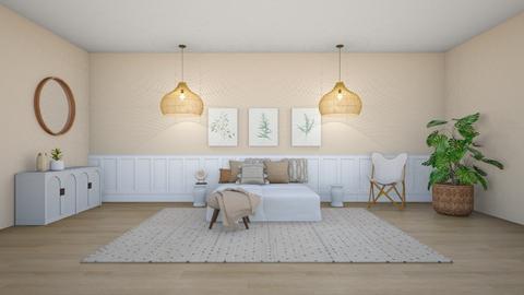 Feng shui bedroom  - Bedroom  - by ferne mcalpin