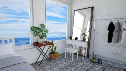 BandB Bedroom1 - Rustic - Bedroom  - by Faye Dela Cruz
