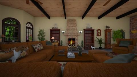 Dream House Floorplan - Vintage - by  krc60