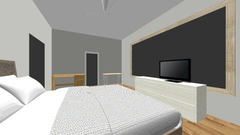 Bedroom Living Area - Country - Bedroom  - by SianElla