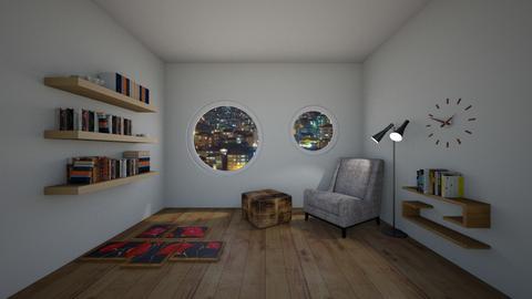 Reading Room - Minimal - Office  - by Tea B Solvo