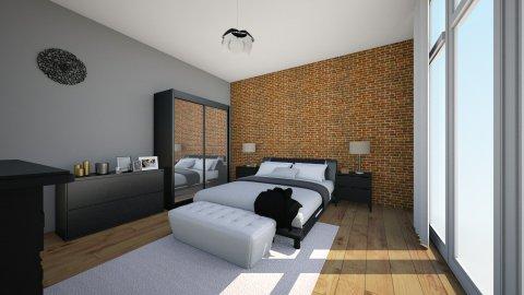 Black  - Modern - Bedroom - by Kamila Walker