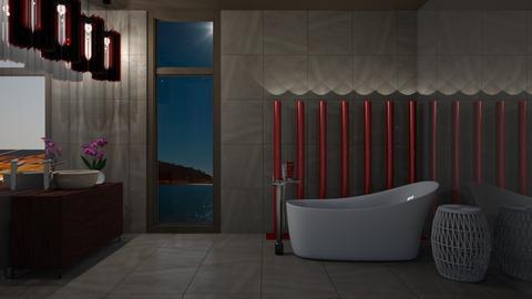 Browny Bath - Modern - Bathroom  - by 3rdfloor