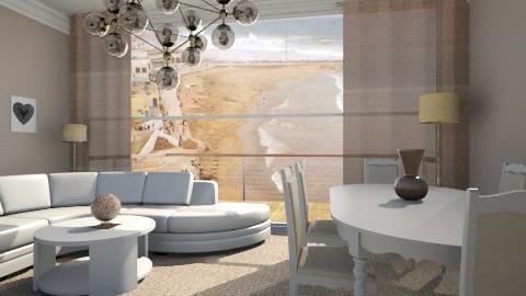Chambre  - Glamour - Living room  - by Hanane Haidoune