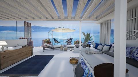 SANTORINI VIP HOTEL - Minimal - Bedroom  - by Danja Zylyfi