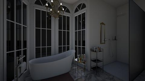 Unfinished bathroom - Glamour - Bathroom  - by ellie conway