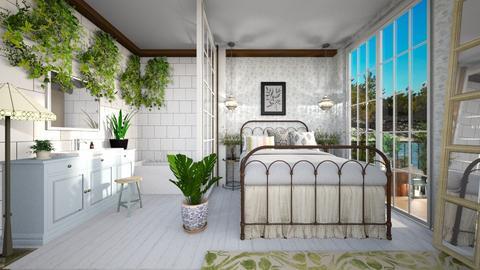 green room - Bedroom  - by rasty