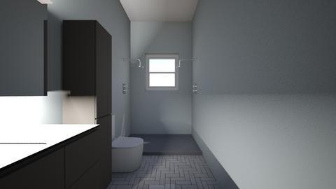2nd floor bath - Bathroom  - by pericama