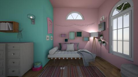 Dorm Room  - by CamGrace